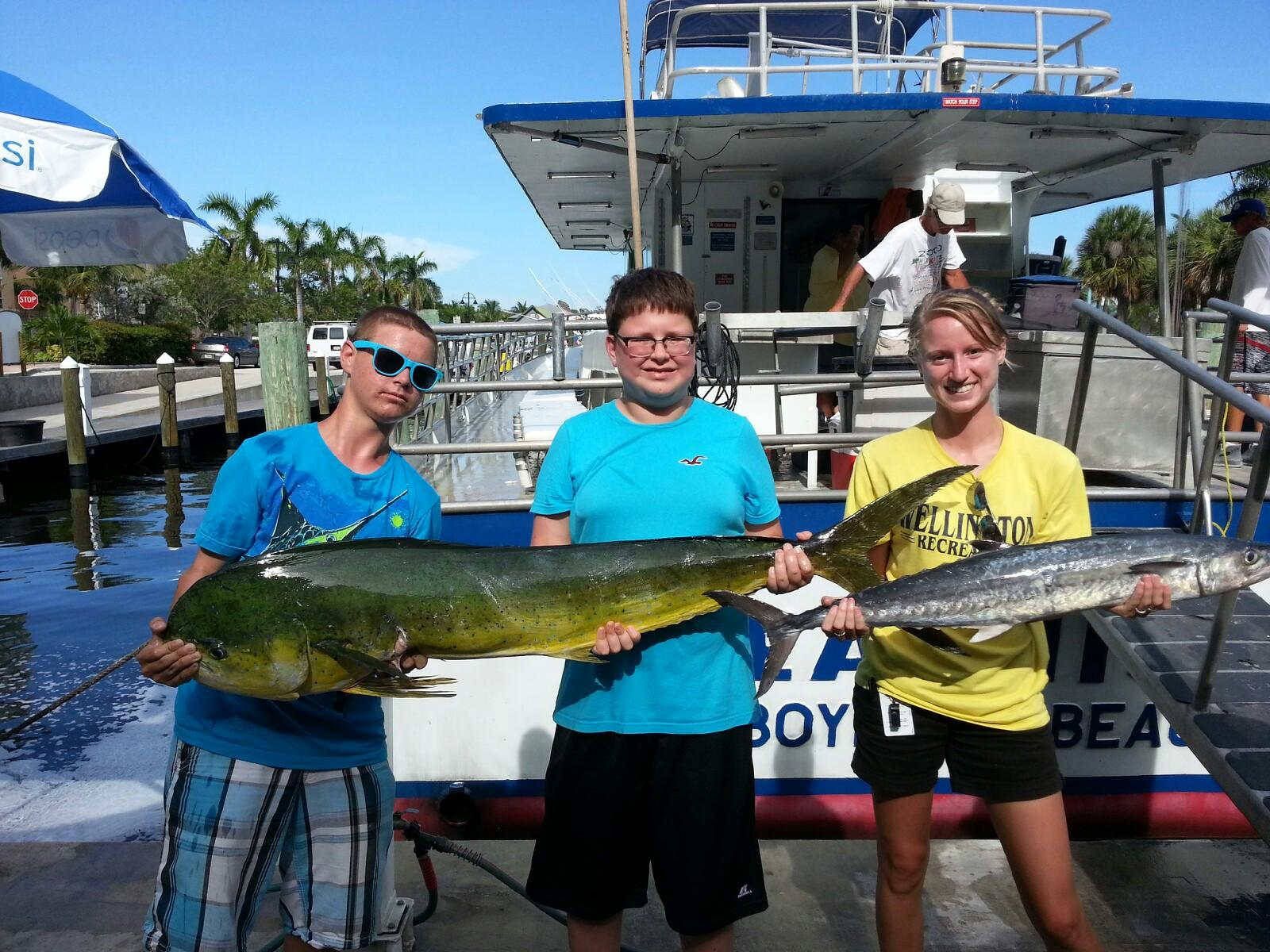 west palm beach fishing reports